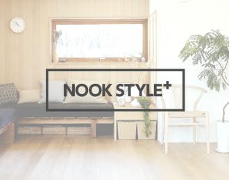 オンラインショップ「NOOK STYLE+-ヌックスタイルプラス」がオープンしました!